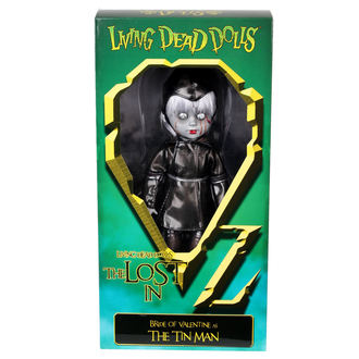 lutka LIVING DEAD DOLLS - Bride Of Valentine As The Tin Man, LIVING DEAD DOLLS