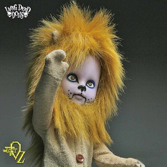 lutka LIVING DEAD DOLLS - Teddy as The Lion, LIVING DEAD DOLLS