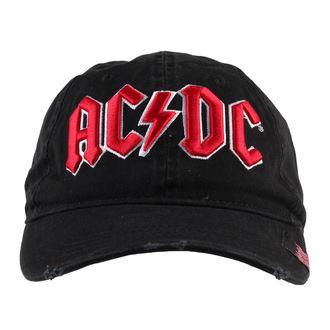kapa AC / DC - Črna - FBI, F.B.I., AC-DC