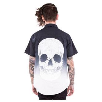 majica moški IRON FIST - Death Breath - Dip barvana - Črno / Bela, IRON FIST