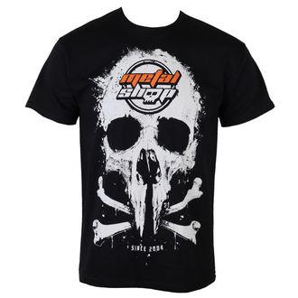 Metal majica moški - Black - METALSHOP - MS015