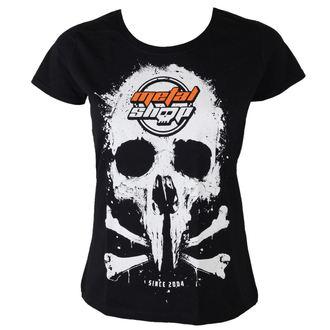 Metal majica ženske - Black - METALSHOP - MS017
