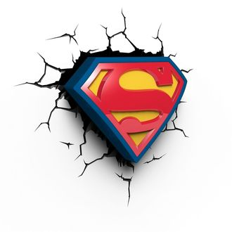 dekoracija Superman - DC Comics 3D LED Light, NNM, Superman