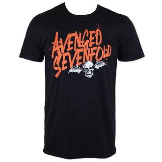 Metal majica moški Avenged Sevenfold - LOGO - ROCK OFF, ROCK OFF, Avenged Sevenfold