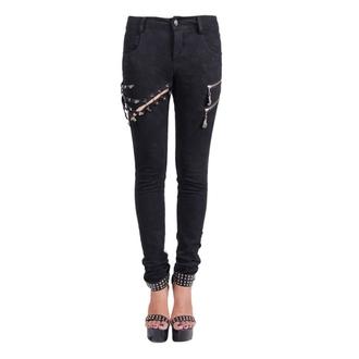 hlače ženske Devil Fashion - Gothic Salem, DEVIL FASHION