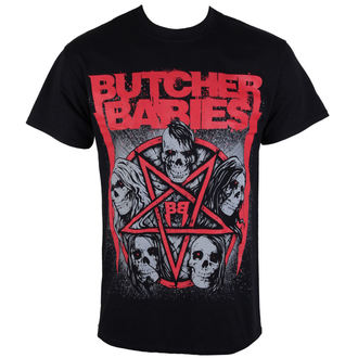 Moška metal majica BUTCHER BABIES - STAR SKULL - RAZAMATAZ, RAZAMATAZ, Butcher Babies