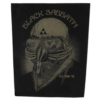 Našitek BLACK The SABBATH - US TOUR '78 - RAZAMATAZ, RAZAMATAZ, Black Sabbath