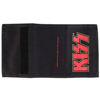 denarnica KISS - Logo - Črno - PLASTIC HEAD, PLASTIC HEAD, Kiss