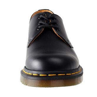 čevlji Dr. Martens - 3 očesca - Black Smooth, Dr. Martens