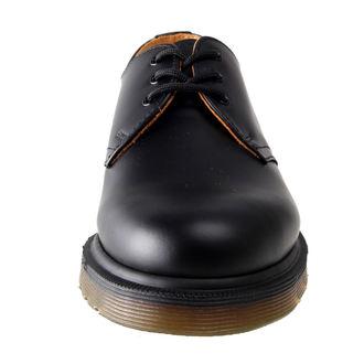 čevlji Dr. Martens - 3 očesca - PW Black Smooth, Dr. Martens
