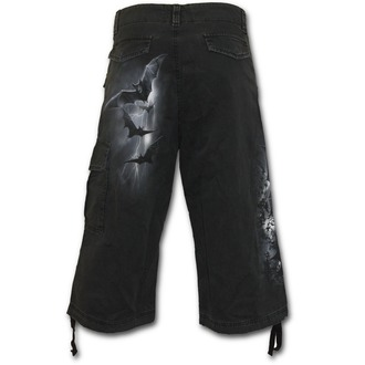 kratke hlače moški SPIRAL - Nightfall - Črno, SPIRAL