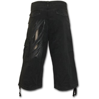 kratke hlače moški SPIRAL - Bone Rips - Črno, SPIRAL