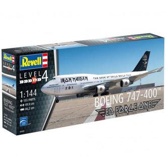 model Iron Maiden - Model Kit 1/144 Boing 747-400, Iron Maiden