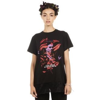 Ženska hardcore majica - Frida Flowers - DISTURBIA, DISTURBIA