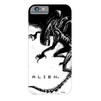 Celica telefon kritje Tujec - iPhone 6 - Xenomorph Črno & Bela Strip, NNM, Alien - Vetřelec