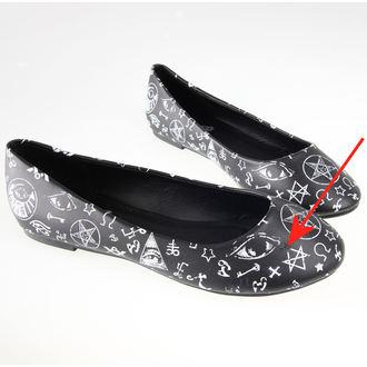 čevlji ženske (balerina) BANNED - BND020BLK - ZAŠČITA, BANNED