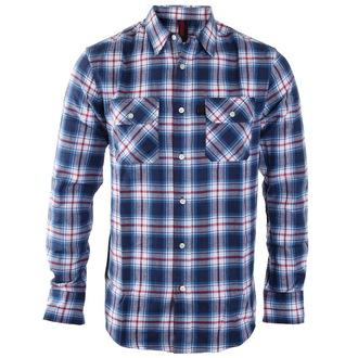 majica moški INDEPENDENT - Faction Blue Check, INDEPENDENT