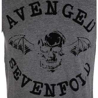 Metal majica moški Avenged Sevenfold - Classic Deathbat Acid Wash - ROCK OFF, ROCK OFF, Avenged Sevenfold
