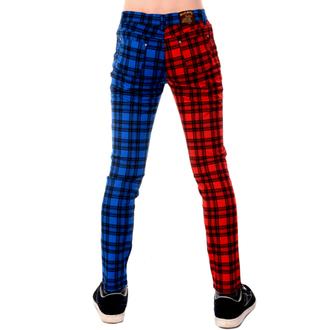 hlače moški 3RDAND56th - TARTAN SPLIT LEG, 3RDAND56th