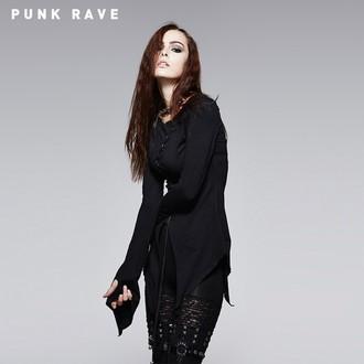majica ženske z dolgo rokav (tuniko) PUNK RAVE - Hypnosis, PUNK RAVE