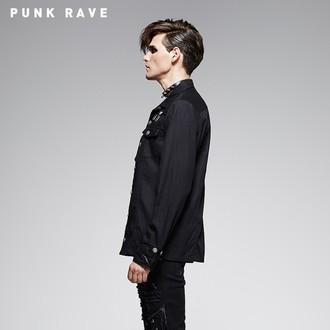 srajca moška z dolgimi rokavi PUNK RAVE - Nostromo, PUNK RAVE