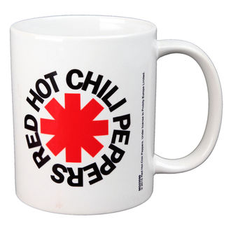 Šalica RED HOT CHILI PEPPERS - LOGO - BIOWORLD, BIOWORLD, Red Hot Chili Peppers