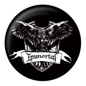 značka Immortal - Crest - NUCLEAR BLAST, NUCLEAR BLAST, Immortal