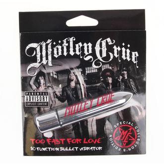 vibrator Motley Crue - Too Fast For Love 10 - Plačnik GLAVA, PLASTIC HEAD, Mötley Crüe