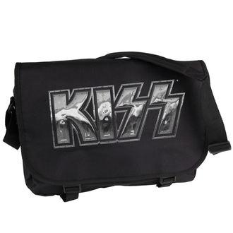 vreča Kiss - Iron Logo - PLASTIC HEAD, PLASTIC HEAD, Kiss