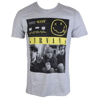 Metal majica moški Nirvana - Bleach Tape Photo - PLASTIC HEAD, PLASTIC HEAD, Nirvana