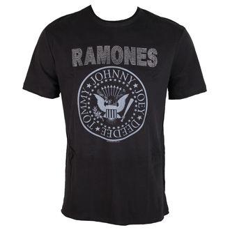 majica kovinski moški Ramones - LOGO - AMPLIFIED, AMPLIFIED, Ramones
