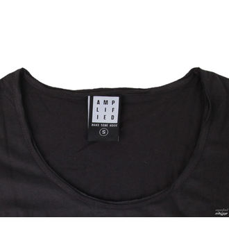 majica kovinski ženske Kiss - CLASSIC LOGO CHARCOAL - AMPLIFIED, AMPLIFIED, Kiss