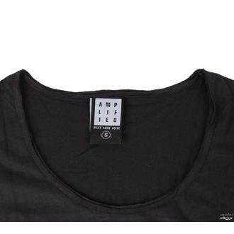 majica kovinski ženske Kiss - DISTRESSED ARMY CHARCOAL - AMPLIFIED, AMPLIFIED, Kiss