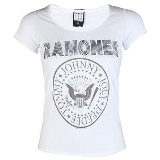 majica kovinski ženske Ramones - LOGO DIAMANTE - AMPLIFIED, AMPLIFIED, Ramones