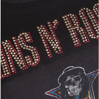 majica kovinski ženske Guns N' Roses - CLASSIC DIAMANTE - AMPLIFIED, AMPLIFIED, Guns N' Roses