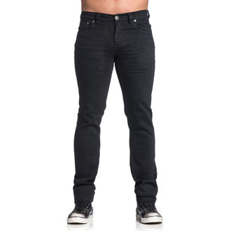 hlače moški AFFLICTION - Gage Rising - Črno, AFFLICTION