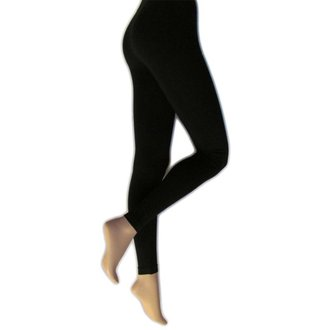 hlače ženske (gleženj) LEGWEAR - everyday - črna, LEGWEAR