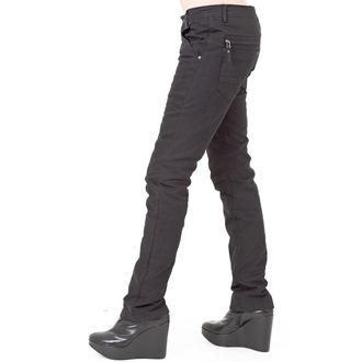 hlače ženske (zima) QUEEN OF DARKNESS - Black, QUEEN OF DARKNESS