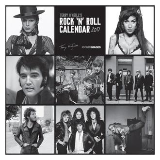 koledar Terry O'Neill je Rock 'n' Roll 2017, PYRAMID POSTERS