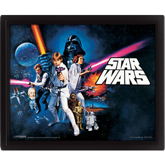 3D sliko Star Wars - A New Hope, PYRAMID POSTERS