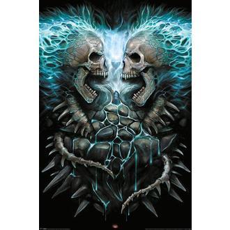 Poster Spiralna - Flaming Spine