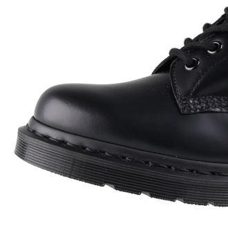 usnje čevlji ženske unisex - DM 1460 MONO BLACK SMOOTH - Dr. Martens - DM14353001