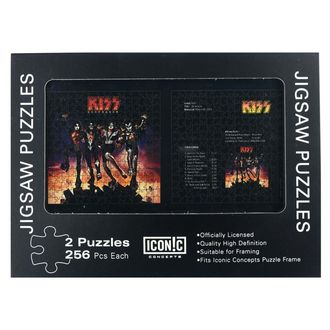 puzzle KISS - Destroyer, NNM, Kiss