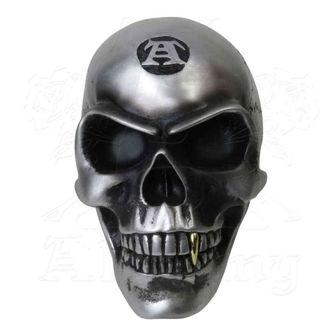 Dekoracija - ALCHEMY GOTHIC - Metalised Alchemist Skull, ALCHEMY GOTHIC