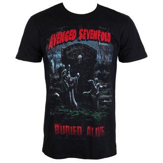 majica kovinski moški Avenged Sevenfold - Buried Alive Tour 2012 - ROCK OFF, ROCK OFF, Avenged Sevenfold