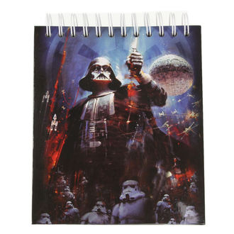Pisanje notepad STAR WARS - CHARACTERS - LOW FREQUENCY, LOW FREQUENCY