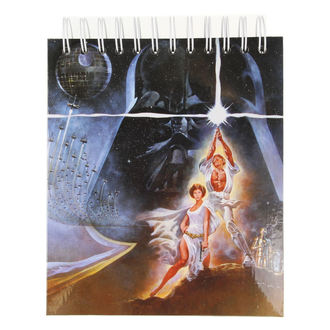 Notepad STAR WARS - CHARACTERS - LOW FREQUENCY, LOW FREQUENCY