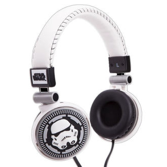 slušalke Star Wars - Storm Trooper - WHT, NNM, Star Wars