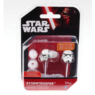 slušalke Star Wars - Stormtrooper - Wht, NNM, Star Wars