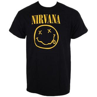 majica kovinski moški Nirvana - Smiley Logo - LIVE NATION, LIVE NATION, Nirvana